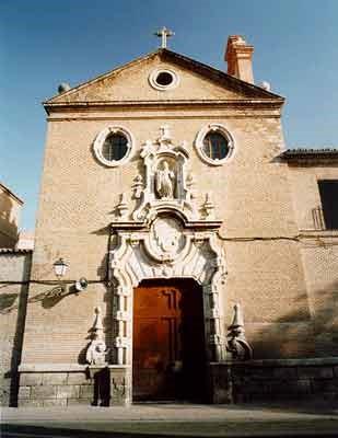 Fachada Colegio Basilios Universidad de Alcalá