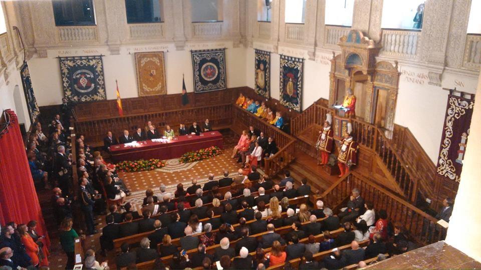 Entrega premios Paraninfo Universidad de Alcalá