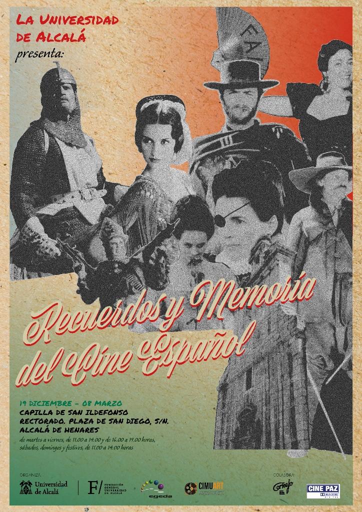Cartel Exposición recurerdos y memoria del cine español