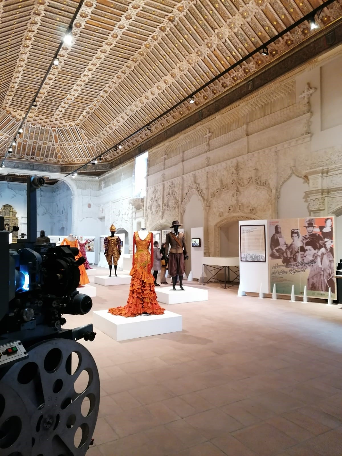 Exposición Recuerdos y memoria del cine español