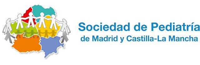 Logotipo Sociedad de Pediatría de Madrid y Castilla-La Mancha
