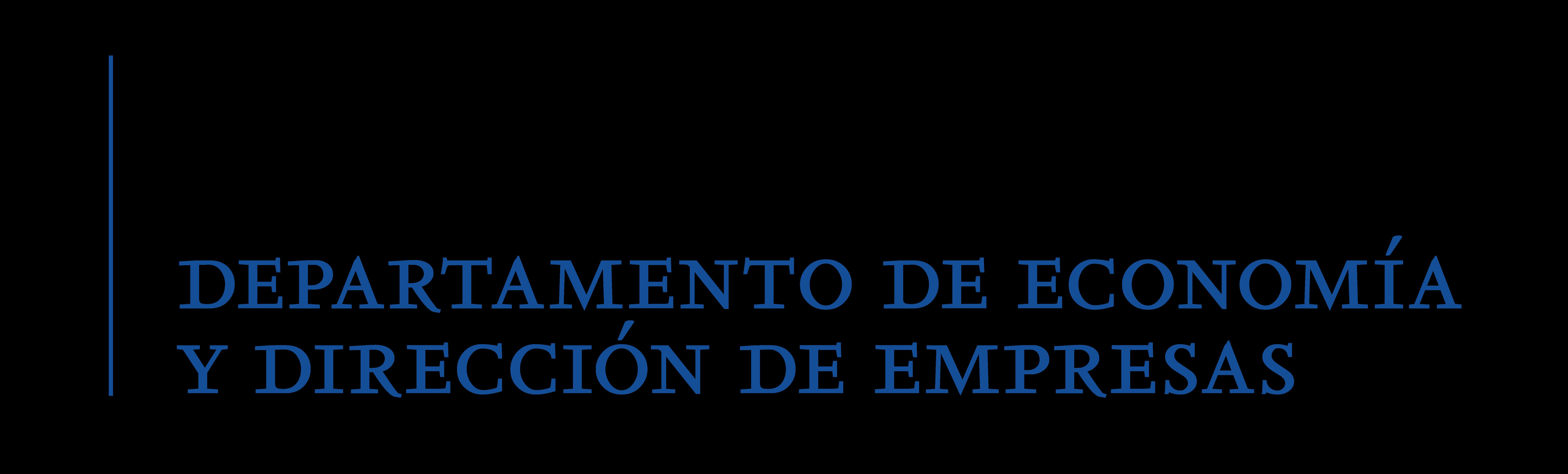 Departamento de Economía y Dirección de Empresas de la Universidad de Alcalá