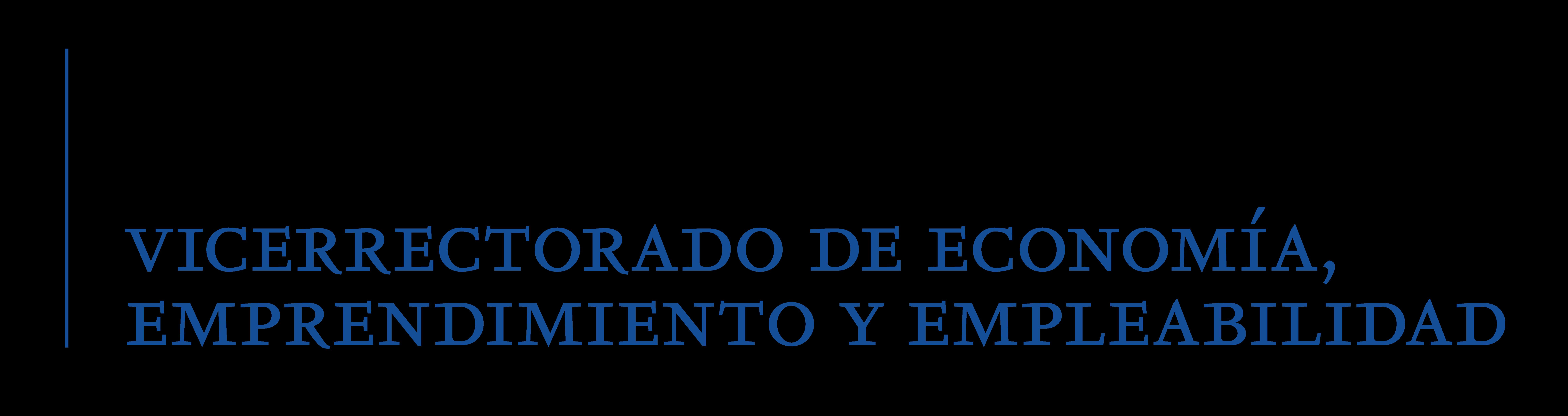 Vicerrectorado de Economía, Emprendimiento y Empleabilidad