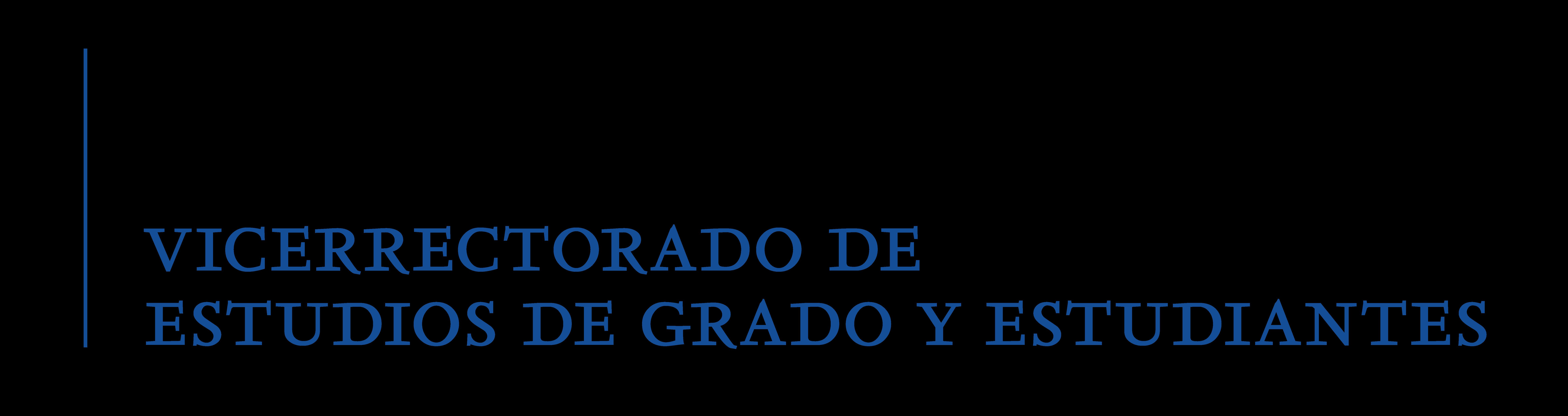 Vicerrectorado de Estudios de Grado y Estudiantes