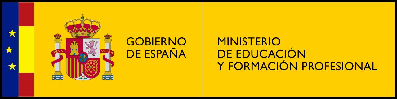 Ministerio de Educación y Formación profesional