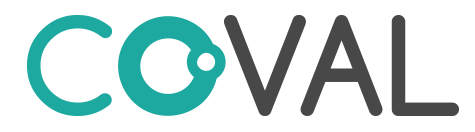 Co-VAL logo