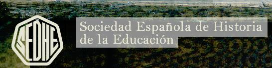 Logotipo Sociedad Española de Historia de la Educación
