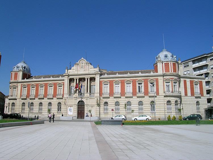Fachada Palacio de la Diputacion