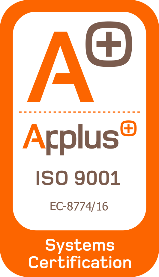 Logotipo APPLUS ISO 9001